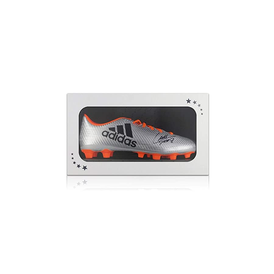 Luis Suarez Signed Soccer Shoe In Gift Box | Autographed Cleat
