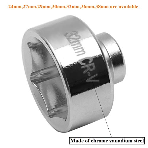 32 mm oil filter socket - 7