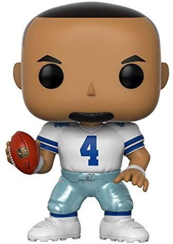 (Funko POP NFL: DAK Prescott (Cowboys Home) Collectible Figure)