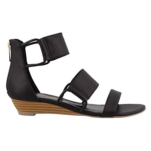 STUDIO ISOLA Women's, Irene Wedge Sandals Black 8 M