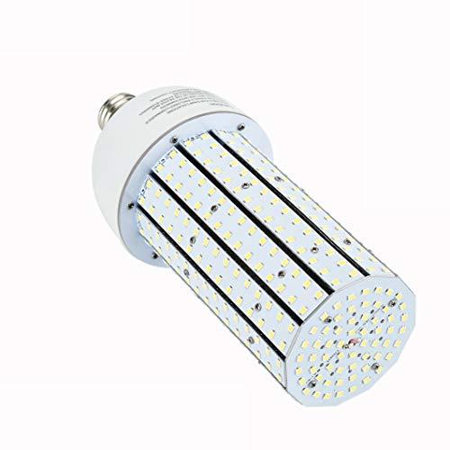 (60W LED Light Bulbs-Indoor Outdoor LED Corn light-E26 Base 7800 Lumen 3000K Warm White-Daylight LED Lights-High Bay fixtures for Home Garage Warehouse Street Factory Industrial Commercial Lighting)