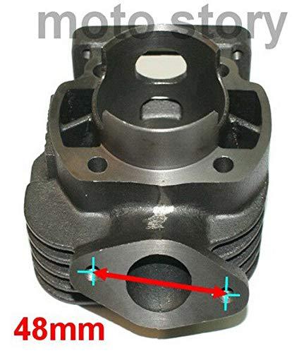 Unbranded 70cc Modifica D.47 Cilindro Gruppo Termico Kit Set per MBK Stunt Booster Road 50