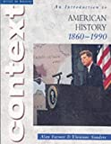 An Introduction to American History, 1860-1990, Alan Farmer and Vivienne Sanders, 0340803266