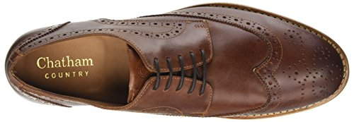 Chatham ChathamBuckingham II - Brogue Uomo, Marrone (Brown (Dark Tan)), 40