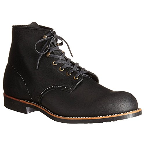 Red Wing Heritage Men's Blacksmith Lace Up, Black Spitfire, 10 D (Red Wing Casual Boots)