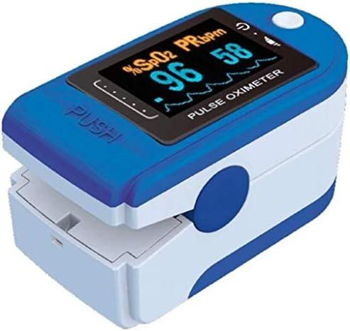 Soberbarmx Dedo Oxímetro de Pulso Medidor de saturación de oxígeno en Sangre Monitor Spo2 5