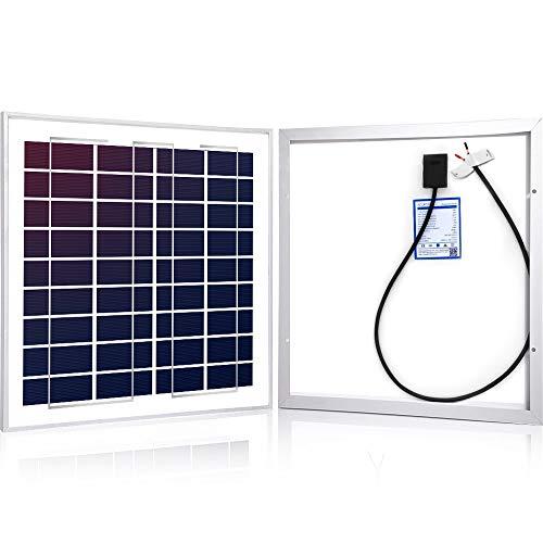 - ACOPOWER 15Watt 15W Polycrystalline Photovoltaic PV Solar Panel Module 12v Battery Charging