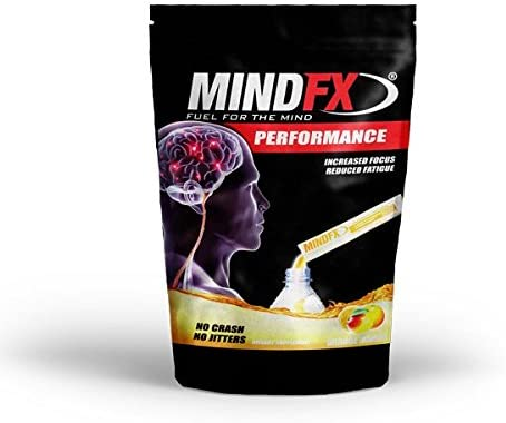 MINDFX Performance Orange Mango Flavor – 15 Single Serving Packets