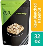 Nut Cravings – Raw Blanched Hazelnuts (2 Pounds) – Gourmet Resealable Pack of Shelled Filberts – 32 Ounce Review