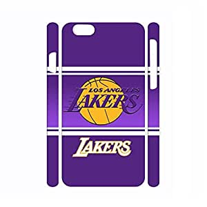 Cool Dustproof Artsy Style Basketball Logo Print Skin for Iphone 6 Plus Case - 5.5 Inch