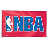 NBA Official Logo 3' x 5' Single-Sided Flag by Wincraft