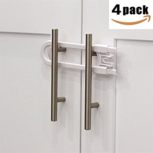 Fairbridge Sliding Cabinet Locks U Shaped Baby Safety