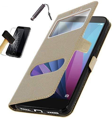 KONTARBOOR - Funda Carcasa para Samsung Galaxy J6 2018 Oro + ...