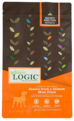 Nature'S Logic Canine Duck & Salmon Meal Feast, 4.4Lb