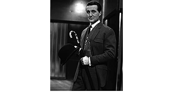 26ef5258ff633 Amazon.com  The Avengers Patrick Macnee Umbrella And Bowler Hat John Steed  16x20 Canvas  Posters   Prints