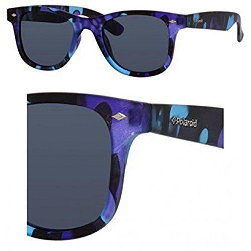 Polaroid Core Pld 6009/S/M Sunglasses Blue Camou / Gray Polarized & Cleaning Kit - 6009 Sunglasses