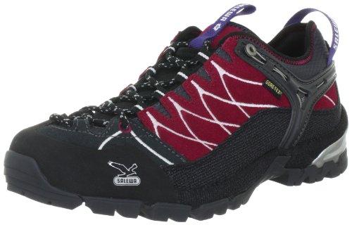 SALEWA WS ALP TRAINER GTX-PELLE 00-0000063122 - Zapatillas de deporte de ante para mujer, color gris, talla 40,5 Rojo