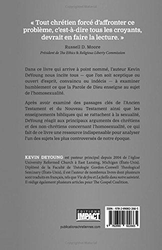 Quenseigne réellement la Bible au sujet de lhomosexualité ? (What Does the Bible Really Teach About Homosexuality?) (French Edition): Kevin DeYoung: ...