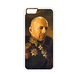 iPhone 6 Plus 5.5 Inch Cell Phone Case White Bruce Willis replaceface VS5370639
