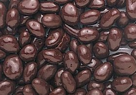 Sugar Free Dark Chocolate Covered Raisins 10 Pound Bulk Bag by 21st century snack foods