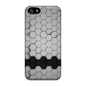 [ARx2437gRVs]premium Phone Cases For Iphone 5C Hexagons 3d Tpu Cases Covers