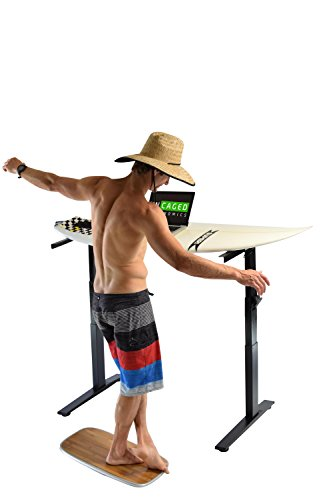 BASE Balance & Stability Board. Active Standing Desk Wobble Platform Trainer for Home, Office, Rehab, Fitness. Full Range of Motion. Patented by Uncaged Ergonomics (Image #8)