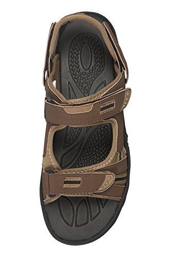Sandali Da Uomo Montagna Warehouse Z4 - Robuste Scarpe Da Passeggio Estive Marrone