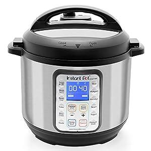 Instant Pot Smart Wifi 6 Quart Multi-use Electric Pressure, Slow, Rice Cooker, Yogurt, Cake Maker, Sauté, Steamer and Warmer, Silver