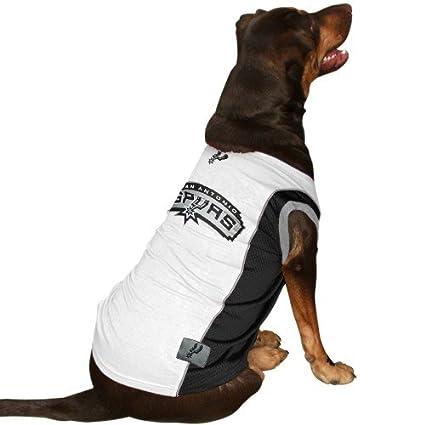 d0670cbb4 Amazon.com   Pets First San Antonio Spurs Dog Jersey   Pet Supplies