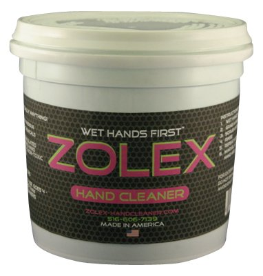 ZOLEX Water-Activated Hand Cleaner, Stain Remover, Non-Toxic, Petroleum-Free | Shop-sized 3 lb Tub