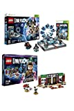 LEGO Dimensions Starter Pack (Xbox 360) '' AND '' LEGO Dimensions Story Pack New Ghostbusters