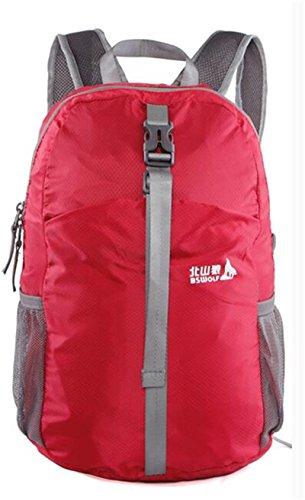 borse alpinismo esterno zaino ultraleggero tracolla pieghevole esterno di campeggio zaino da viaggio ( colore : 3# , dimensioni : 20-35L )
