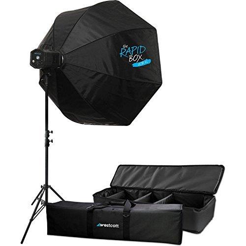 WestcottSkylux LED 1-Light XL Kit with Rapid Box 36'' by Westcott