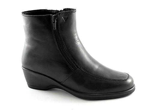 Cinzia Soft IV6819 Chaussures Noires Femme Bottes Double Fermeture éclair Latérale Nero dMkdBGUEC