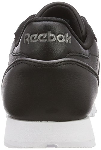 Leather Hardware Reebok Baskets Femme blackwhiterose Noir Gold Classic ZTR5Oq