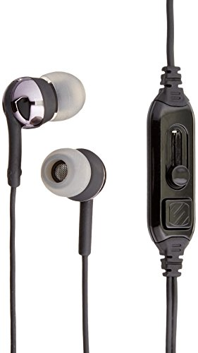 SCOSCHE IDR657mbk Isolation Earphones Increased product image