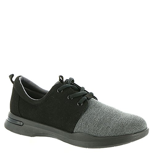 Lycra relax Softwalks1807 Black microfiber grey Mujer gdIrqfI