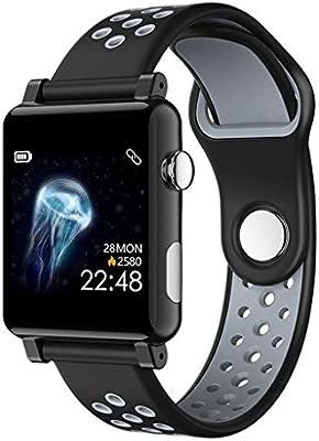 Amazon.com: Fitness Smartwatch, B71 Smart Watch Men Women ...