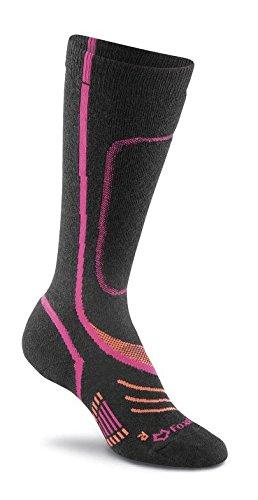 Fox River Women's Peak Series VVS Low Pro Lightweight And Silk Ski Socks, Small, (Weight Merino Silk)