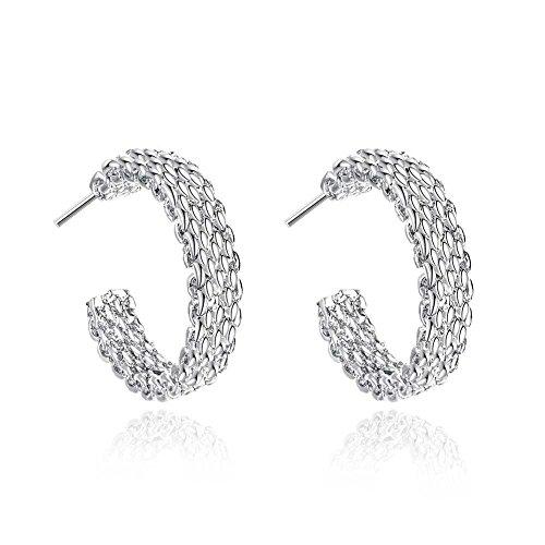 - Dangle Earrings Fashion Earrings Crystal Lover Girls Gifts Jewelry Accessories Shiny Earrings Zirconia Studs Hypoallergenic for Girls for Women