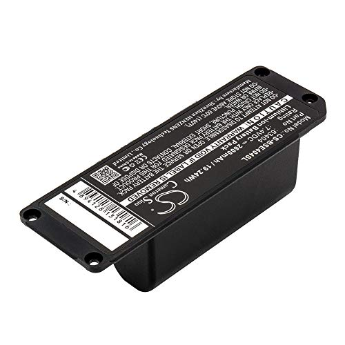 - Cameron Sino Speaker Battery Replacement 2600mAh / 19.24Wh 7.4V Li-ion Replacement Bose 063287, 063404 Batteries Pack fits for Bose Soundlink Mini (Black)