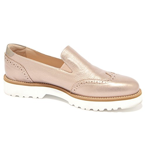 bronzo donna loafer PANTOFOLA mocassino HOGAN scarpa woman 1507Q ROUTE 1YTIB1q