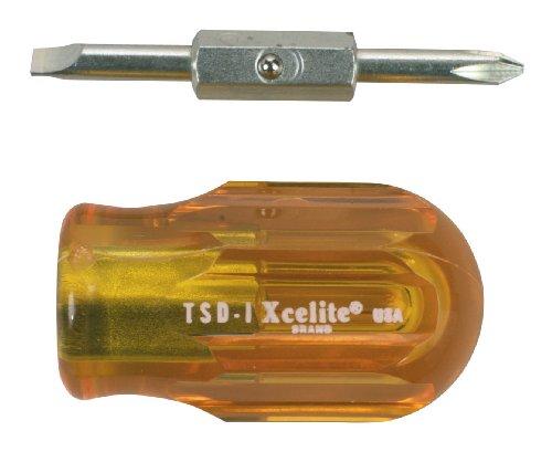 Xcelite TSD1V Slotted Stubby Screwdriver