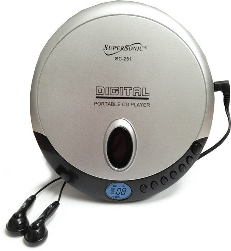 Supersonic SC251 Personal CD Player