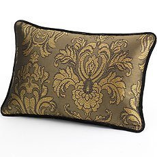 Lenox Gilded Tapestry Decorative 12 x 18 Pillow