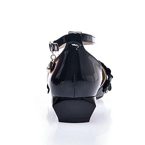 Zanpa Mode 3 Slingback Basses black Donna gOYwqfrO