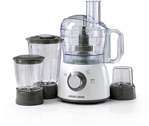Black & Decker FX400BMG 400W Food Processor with Blender, Mincer & Grinder 220V (Not for USA – European Cord)