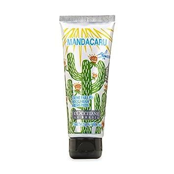 2c36d631853 L'Occitane Au Bresil Mandacaru Exfoliating Foot Scrub Cream 75ml:  Amazon.co.uk: Beauty