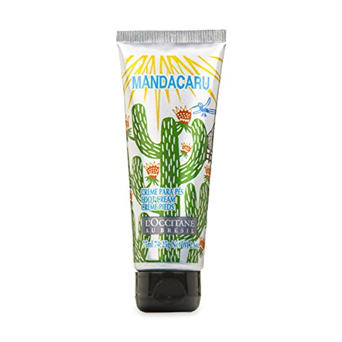 L'Occitane Au Bresil Mandacaru Exfoliating Foot Scrub Cream 75ml