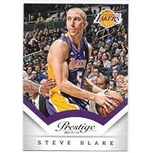 Steve Blake 2013-14 Prestige Los Angeles Lakers Card #76